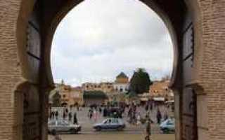 Путешествие по марокко мекнес фес