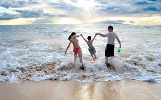Осенние каникулы на море куда поехать с детьми