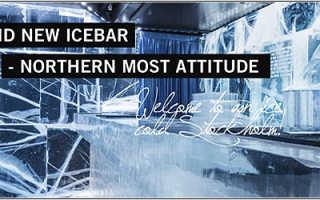 Что интересного в ice bar в стокгольме