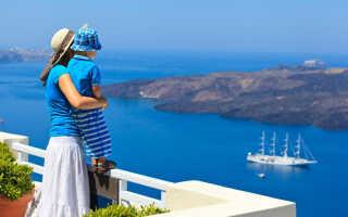Особенности отдыха с детьми в греции