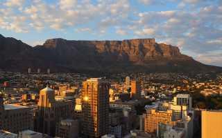 Особенности отдыха в кейптауне в 2020 году