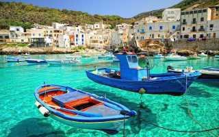 Острова италии для отдыха