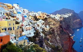 Отдых в санторини греция