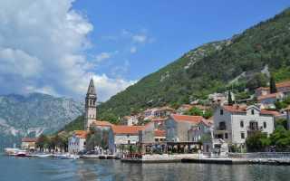 Отдых в черногории в первый раз