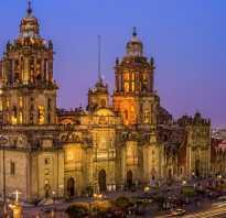 Кафедральный собор в мехико mexico city metropolitan cathedral