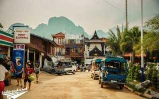 Нетривиальное путешествие из чиангмая в ванг вьенг