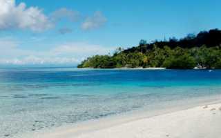 Отдых на соломоновых островах 2020