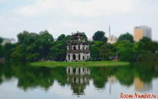 Северный вьетнам ханой