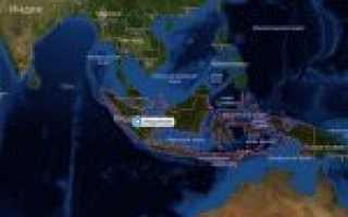 Карта индонезии индонезия на карте мира