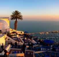 Что нужно взять с собой в тунис