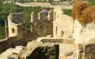 Замок трсат хорватия залив кварнер