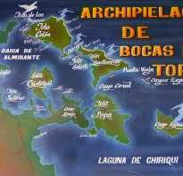 Бокас дель торо на карте погоды