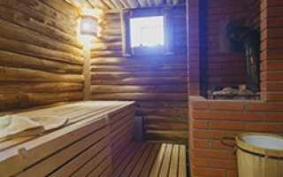 Светлая баня банный