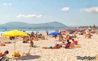 Отдых в италии с детьми на море