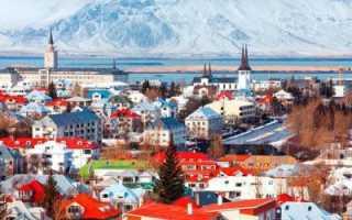 Лучшие города и места для туризма в исландии