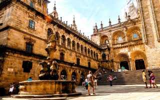 Популярные города испании