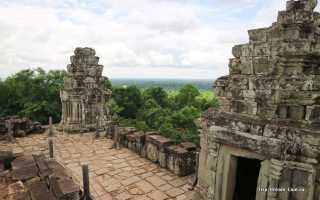 Храмы камбоджи пхном бакенг