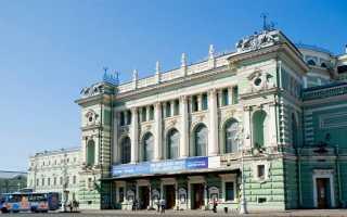 Лучшие театры санкт петербурга