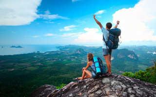 Популярные места для туризма