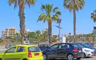 Какие документы необходимо предоставить для аренды автомобиля на кипре