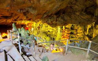 Идейская и диктейская пещеры греция крит