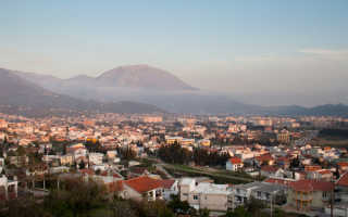Температура воды в черногории в июле