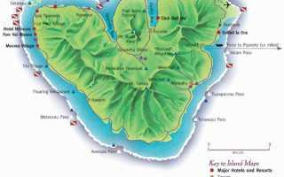 Все об отдыхе на острове муреа отзывы советы путеводитель