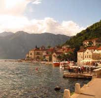 Когда и где лучше отдыхать в черногории по месяцам