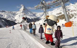 Лучшие горнолыжные курорты для отдыха с детьми