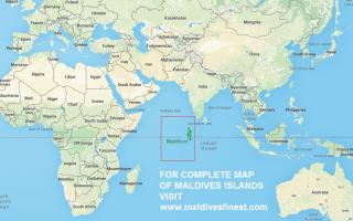 Карта мальдив мальдивы на карте мира