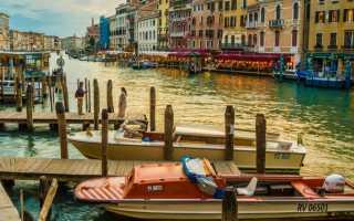 Температура воды в венеции в октябре