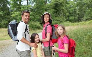 Как подготовиться к походу с ребенком