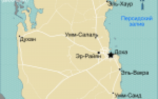 Карта катара катар на карте мира