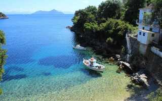 Погода в греции в ноябре