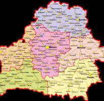 Карта беларуси беларусь на карте мира