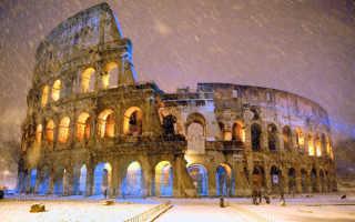Температура воды в италии в декабре