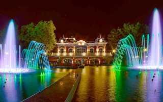 Краснодар город парков и фонтанов