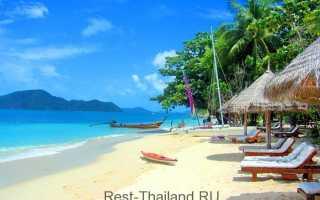 Когда лучше ехать в таиланд отдыхать