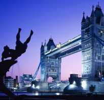 Тауэрский мост великобритания лондон