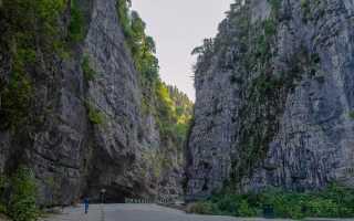 Путешествие в абхазию на автомобиле