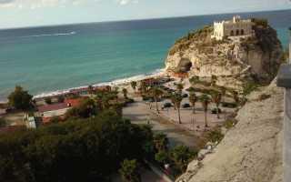 Отдых на самом юге италии неповторимая калабрия