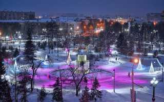 Новогодние мероприятия 2020 в омске