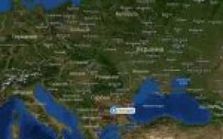 Карта болгарии болгария на карте мира