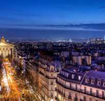 Малоизвестные факты об отдыхе в париже