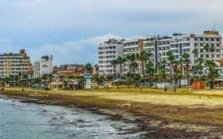 Температура воды моря на курортах кипра