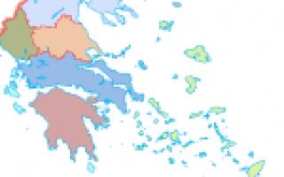 Карта греции греция на карте мира