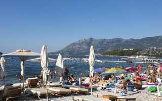 Что взять с собой на отдых в черногорию